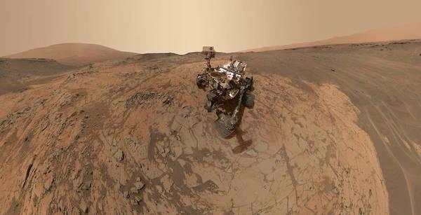 Curiosity regala l'ultimo selfie da Marte
