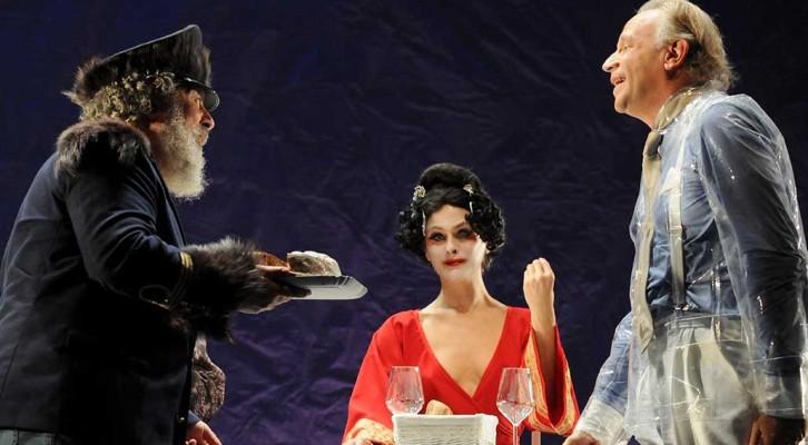 La Compagnia di Geppy Gleijeses con Lello Arena e Marianella Bargilli in tour con L'uomo, La Bestia e La Virtù
