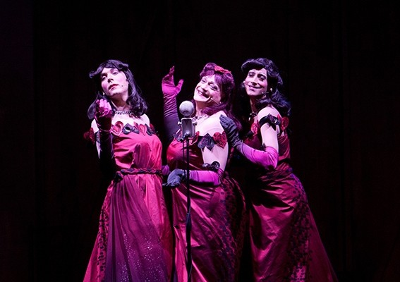 Le Sorelle Marinetti al Teatro Cilea con Risate sotto le bombe