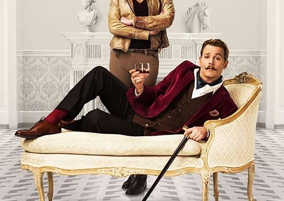 Mortdecai:Johnny Depp e Gwyneth Paltrow protagonisti della nuova action-comedy americana