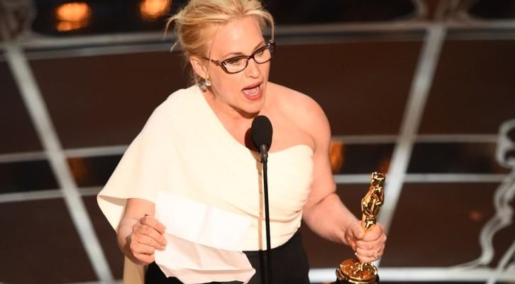 Oscar 2015: Patricia Arquette, abbiamo bisogno di una legge federale che ristabilisca i nostri diritti