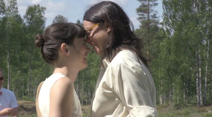 """Presentazione del film """"Lei disse sì"""" alla presenza della regista e delle due protagoniste, Ingrid Lamminpää e Lorenza Soldani"""