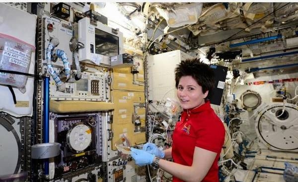 Samantha Cristoforetti: un messaggio importante dallo spazio