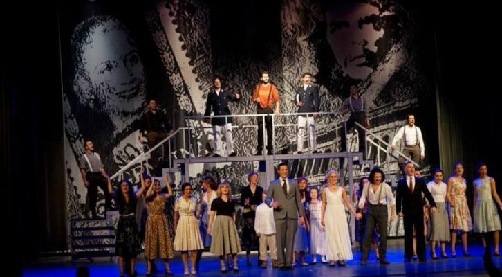 Evita il musical al teatro Cilea