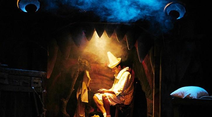 Le avventure di Pinocchio al Teatro dei Piccoli di Napoli