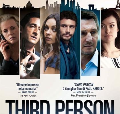 Third Person: nel film di Paul Haggis le canzoni di Gigi D'Alessio, Anna Tatangelo e Biagio Antonacci