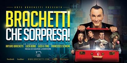 """Arturo Brachetti al Teatro Sitina con """"Brachetti che sorpresa!"""""""