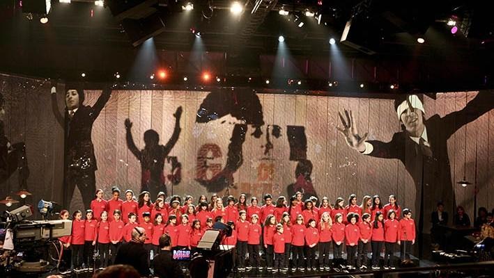 I Piccoli Cantori di Milano alla cerimonia d'apertura di Expo 2015