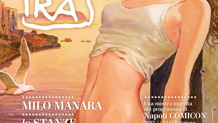 Milo Manara: Magister di Napoli Comicon 2015, presenta al Pan Le Stanze del Desiderio