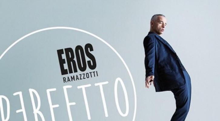 Eros Ramazotti: Perfetto è al primo posto su iTunes. Prevendite aperte per il tour mondiale