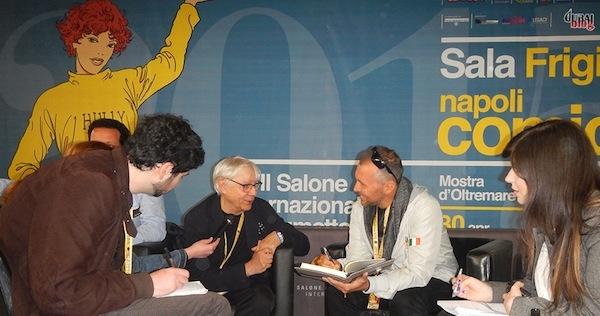 Intervista al maestro Milo Manara