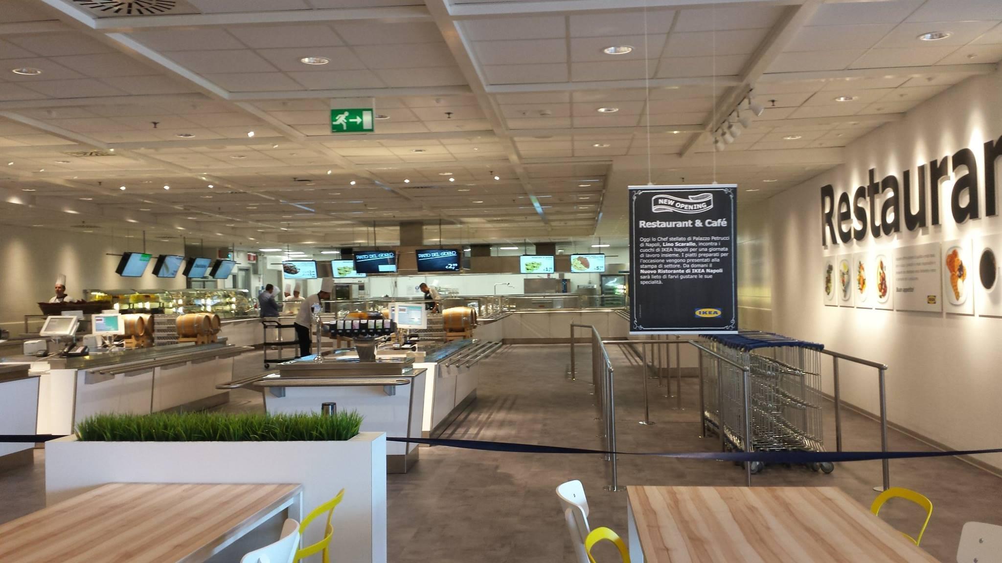 Apre il nuovo ristorante da IKEA di Afragola