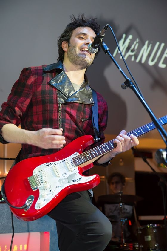 Manuel Rinaldi: un cantautore rock