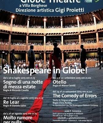 Presentata la nona stagione del Silvano Toti Globe Theatre