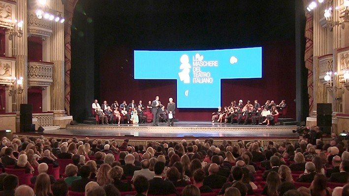 Al Teatro Mercadante la consegna del premio Le Maschere del Teatro Italiano