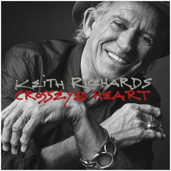 """Keith Richards: la leggenda del rock pubblica il terzo album da solista """"Crosseyed Heart"""""""