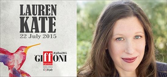 Lauren Kate al Giffoni Film Festival