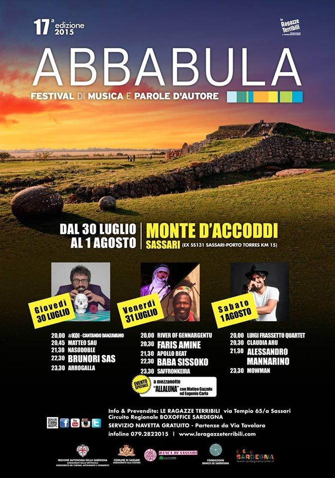 Torna il festival di Abbabula