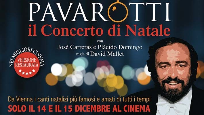Pavarotti il concerto di Natale al cinema