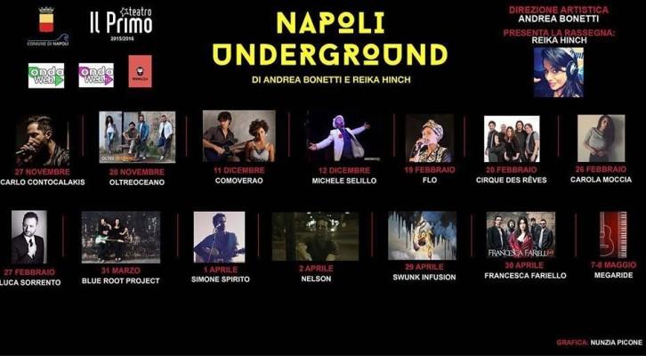 Andrea Bonetti presenta Napoli Underground