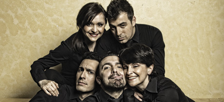 Gli Oblivion cantano il Festival di Sanremo
