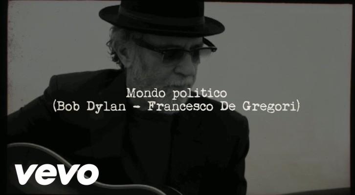 """Francesco De Gregori: il video di """"Mondo Politico"""""""