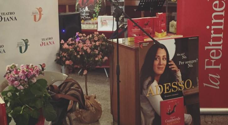 Chiara Gamberale al teatro Diana di Napoli