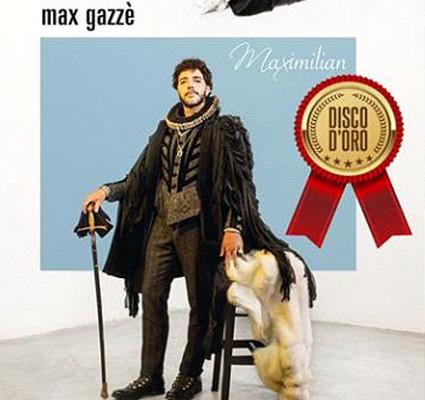 """Max Gazzé: Disco d'Oro per """"Maximilian"""""""