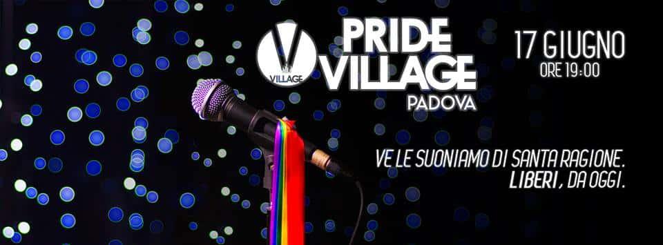 Padova Pride Village, festa per tre mesi da Noemi a Virginia Raffaele