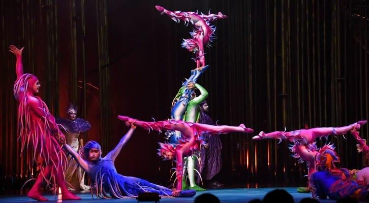 cirque du soleil italiano  Il Cirque du Soleil presenta il tour italiano di Varekai