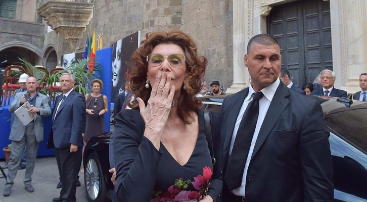 Sophia Loren, cittadina onoraria di Napoli
