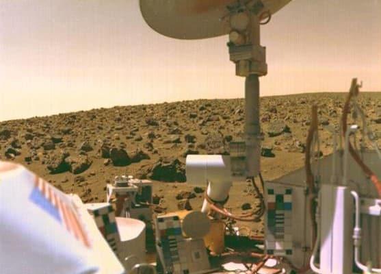 Viking 1, il primo veicolo approdato su Marte 40 anni fa