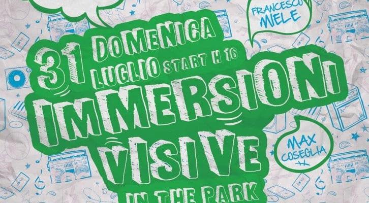 """Immersioni visive in the park"" a Pomigliano D'Arco"