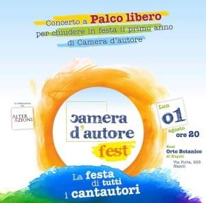 Cantautori a Palco Libero all'Orto Botanico di Napoli (Locandina CDA 300x295)