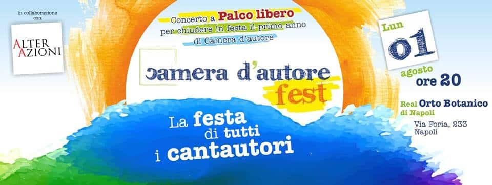 Cantautori a Palco Libero all'Orto Botanico di Napoli