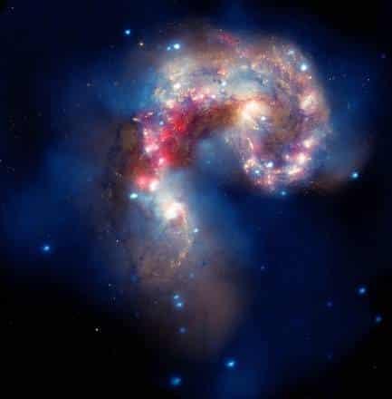Raggi X dall'origine misteriosa identificati nell'universo