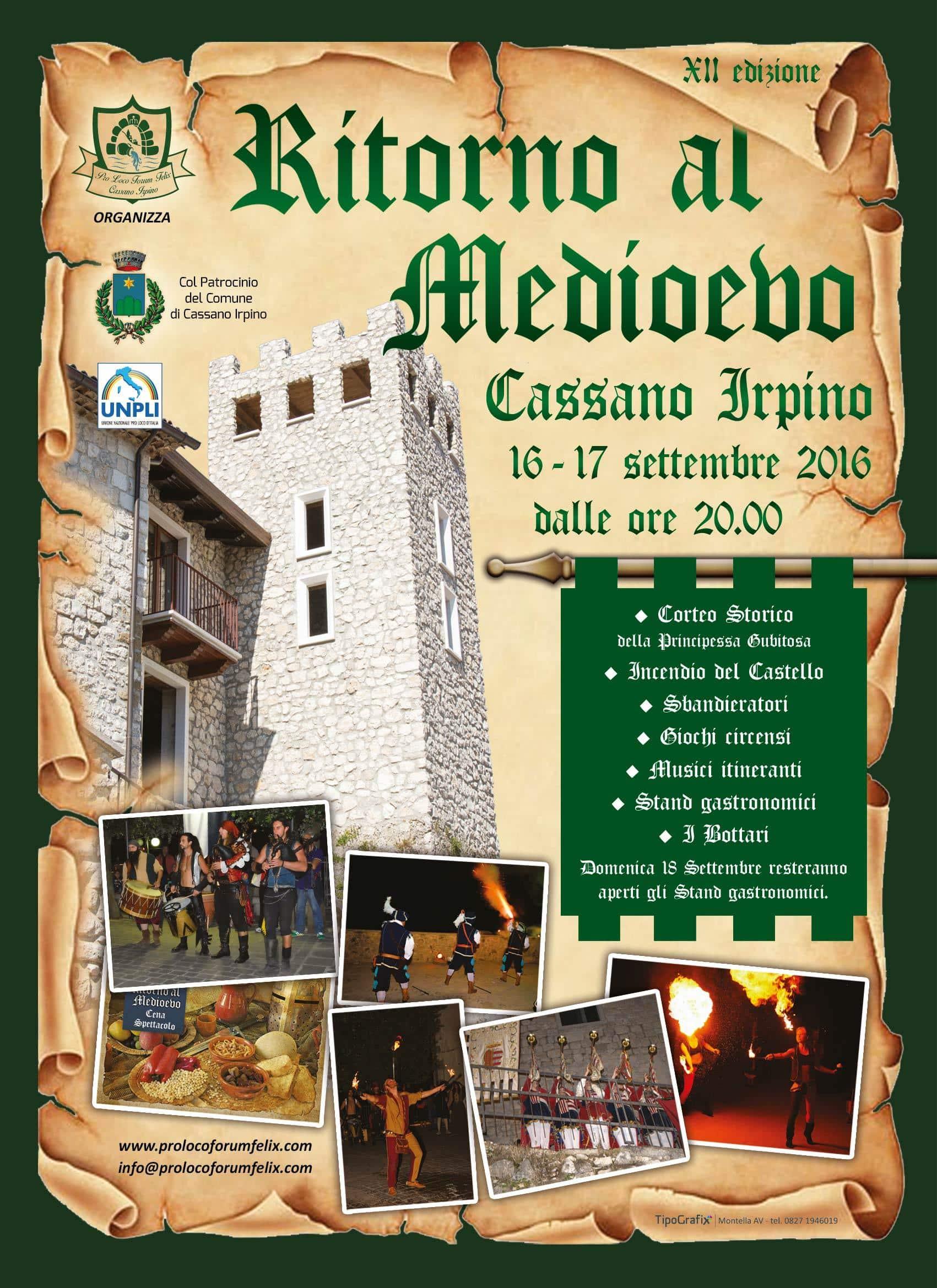 Ritorno al Medioevo a Cassano Irpino