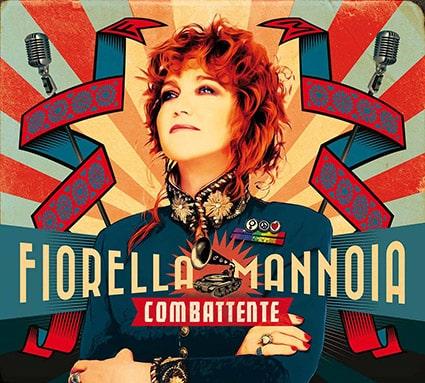 Fiorella Mannoia svela sui social la copertina di Combattente