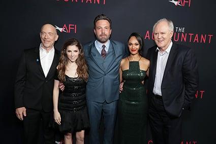 The Accountant, a Los Angeles la première del film di Gavin O' Connor