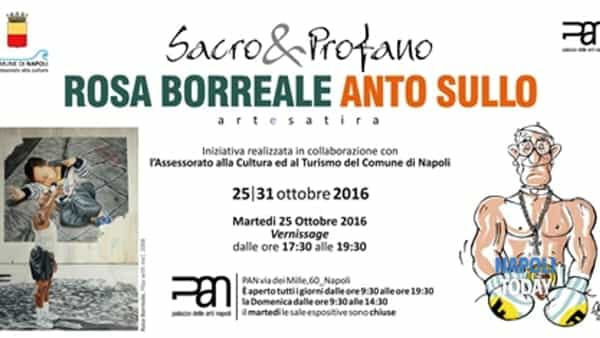 Sacro&Profano: arte e satira in mostra al Pan