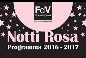 """Presentata la prima edizione della rassegna teatrale """"Notti Rosa"""""""