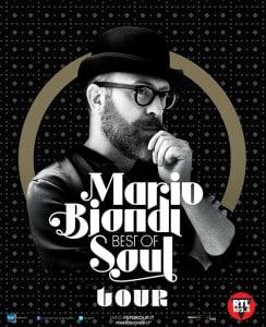 """Mario Biondi: """"Quanto son felice di fare questo mestiere"""" (Locandina Best Of Soul Tour 244x300)"""