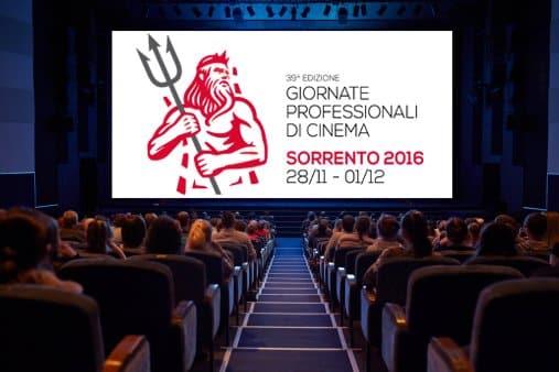 Il programma delle Giornate Professionali di Cinema 2016