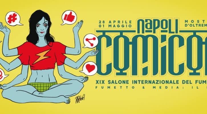 Napoli Comicon 2017, torna il salone internazionale del fumetto