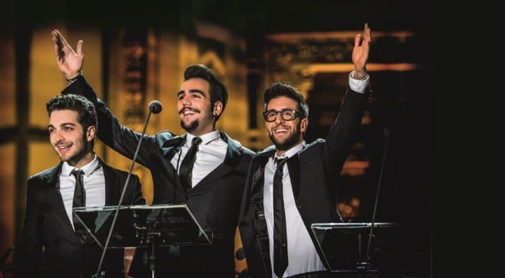 Il Volo presenta il tributo ad Ennio Morricone: «Questo concerto è un messaggio di speranza»