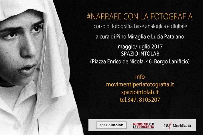 Narrare con la fotografia: al via al corso di Pino Miraglia e Lucia Patalano