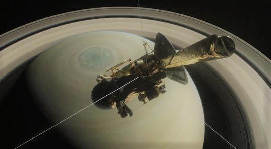 Ultimi giorni della sonda Cassini su Saturno