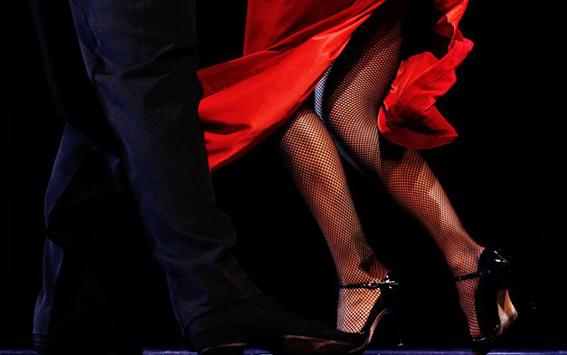 Villa Fiorentino a Sorrento si tinge di rosso e di tutti i colori del Tango