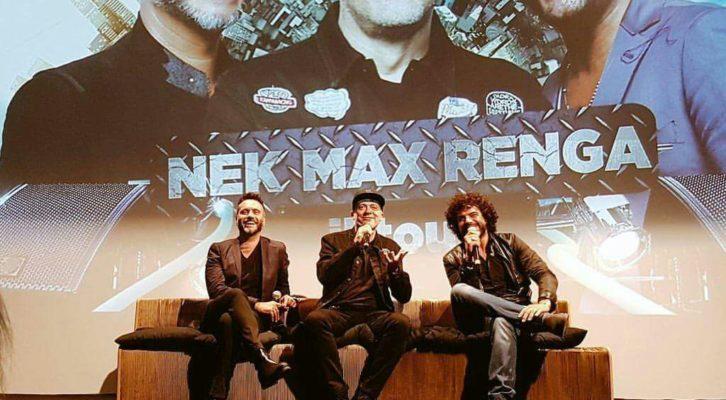 Max Pezzali, Nek, Francesco Renga: un trio dalle mille sorprese