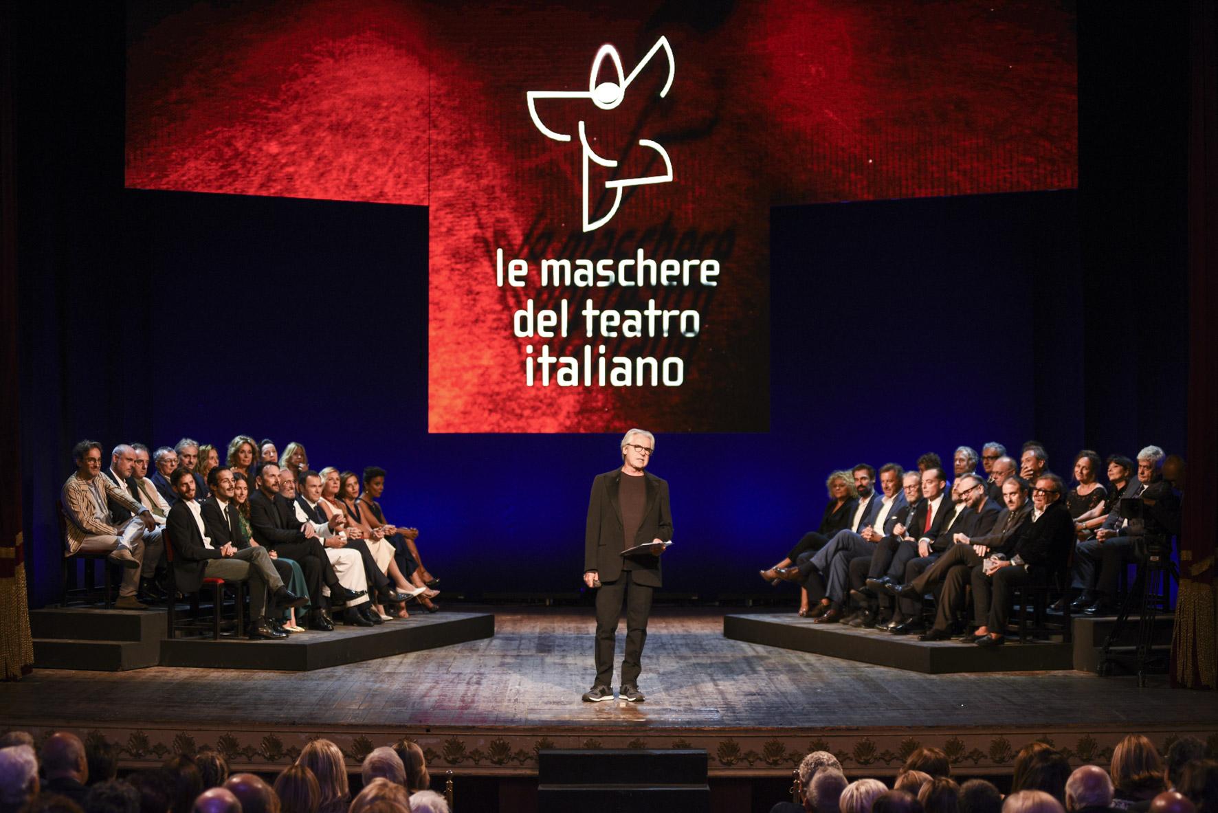 Premio Le Maschere Del Teatro Italiano 2017. Ecco i vincitori